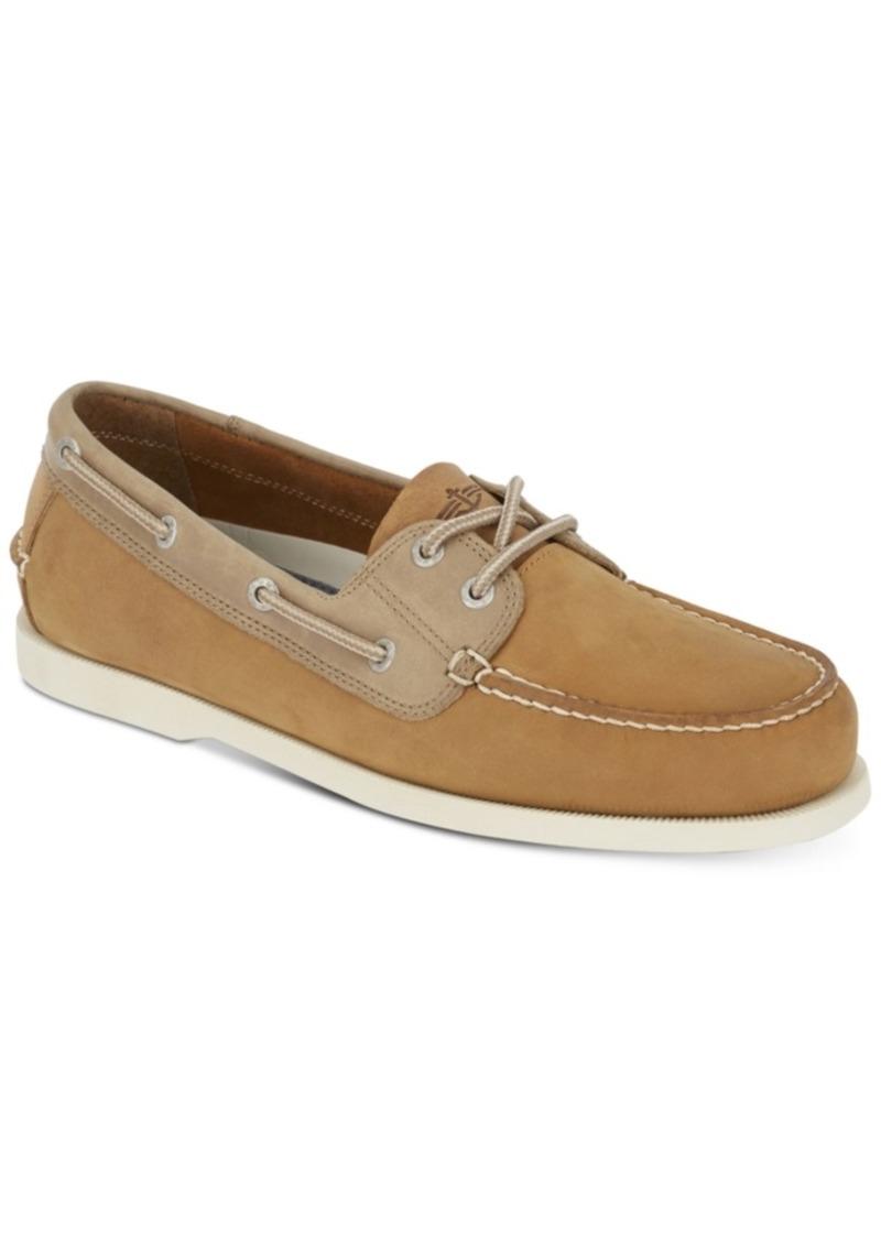 Dockers Men's Vargas Leather Boat Shoes Men's Shoes