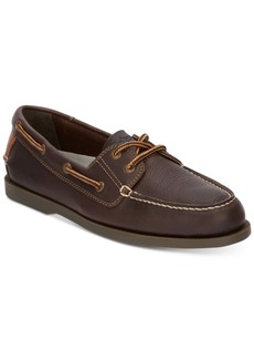 Dockers Men's Vargas Leather Boat Shoes Men's Shoes