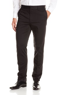 Dockers Men's Victory Slim Tapered Flat Front Pant Owens A Stripe Black - discontinued