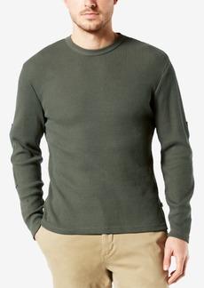 Dockers Men's Waffle-Knit Sweater