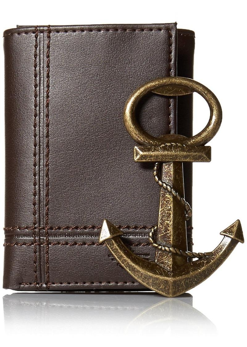 Dockers Men's Wallet With Anchor Bottle Opener