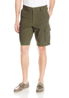 Dockers Men's Washed Cargo Short Classic Fit Olive (Stretch)