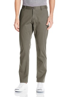 Dockers Men's Washed Khaki Athletic-Fit Slim Tapered Pant Olive