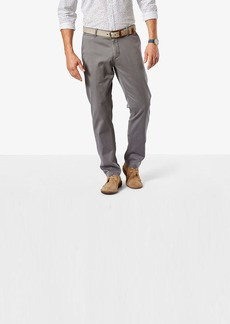 Dockers Men's Washed Khaki Athletic-Fit Slim Tapered Pant