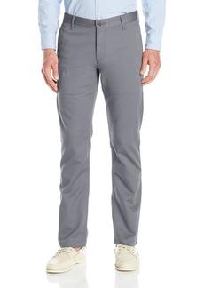 Dockers Men's Washed Khaki Slim Tapered-Fit Pant Burma Grey Stretch