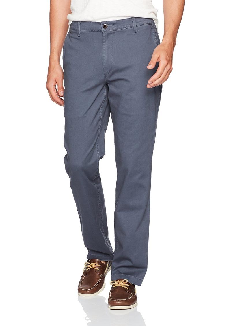 Dockers Men's Washed Khaki Straight Fit Pants D2