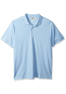 Dockers Men's Washed Pique Polo Short Sleeve