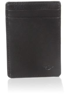 Dockers Men's Wide Slim Magnetic Front Pocket Wallet