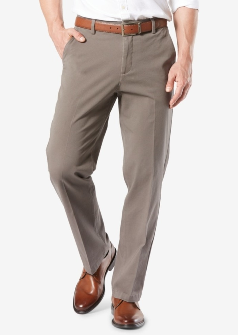 Dockers Men's Workday Smart 360 Flex Classic Fit Khaki Stretch Pants