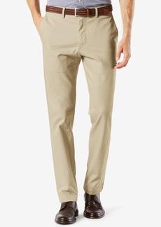 Dockers Men's Stretch Clean Khaki Slim Tapered Fit Pants