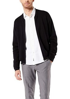 Dockers Full Zip Bomber Sweater Jacket