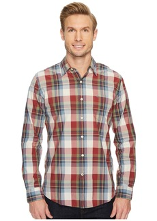 Dockers Laundered Fitted Long Sleeve Shirt