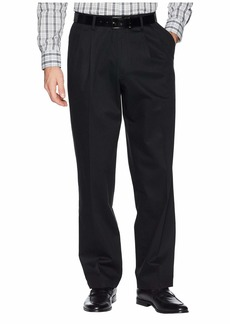 Dockers Relaxed Fit Signature Khaki Lux Cotton Stretch Pants D4 - Pleated