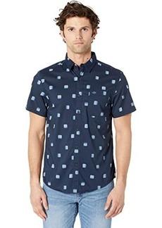 Dockers Short Sleeve Modern Fit Supreme Flex Washed Poplin Shirt