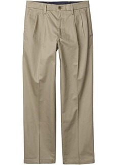 Dockers Straight Fit Signature Khaki Lux Cotton Stretch Pants - Pleated