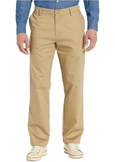 Dockers Straight Fit Signature Khaki Lux Cotton Stretch Pants D2 - Creaseless