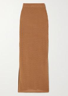 Dodo Bar Or Diana Pointelle-knit Maxi Skirt