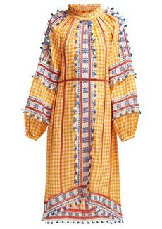 Dodo Bar Or Alexa full-sleeve embroidered cotton dress