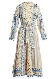 Dodo Bar Or Azzez polka-dot and striped cotton dress