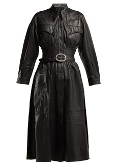 Dodo Bar Or Belted leather dress