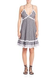 DODO BAR OR Dalal Cross-Back Dress
