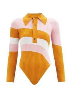 Dodo Bar Or Hera striped jersey bodysuit
