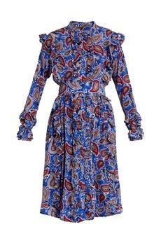 Dodo Bar Or Jagger paisley-print silk dress