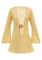 Dodo Bar Or Jane cotton crocheted-lace mini dress