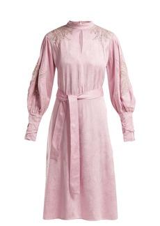 Dodo Bar Or Josephine bead-embellished dress