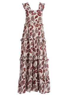 Dodo Bar Or Kat paisley-print silk maxi dress