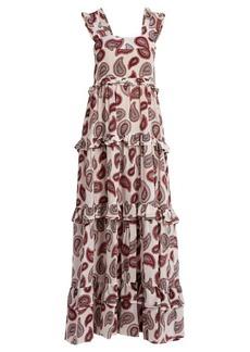 Dodo Bar Or Kat paisley-print silk maxi dress