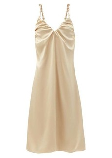 Dodo Bar Or Libi ruched silk dress