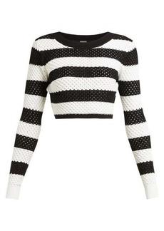 Dodo Bar Or Margaret striped cotton top