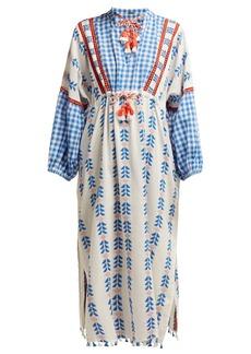 Dodo Bar Or Miguel tassel cotton kaftan dress