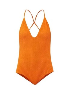 Dodo Bar Or Rossie crossover-strap swimsuit