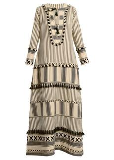 Dodo Bar Or Samuelle striped cotton dress