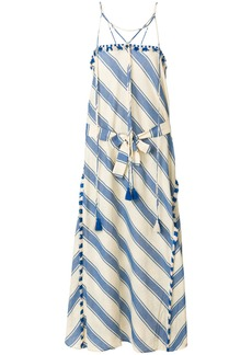 Dodo Bar Or striped maxi dress - Nude & Neutrals