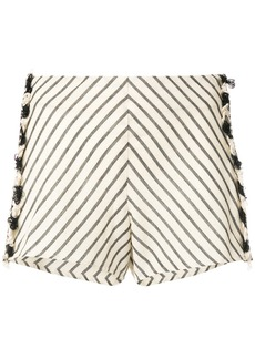 Dodo Bar Or striped shorts - Nude & Neutrals