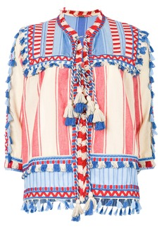 Dodo Bar Or tassel detail blouse - Multicolour