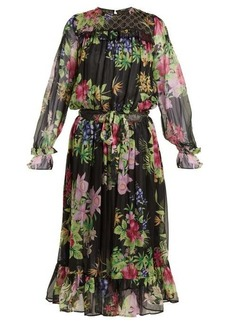 Dodo Bar Or Vitti floral-print embellished dress