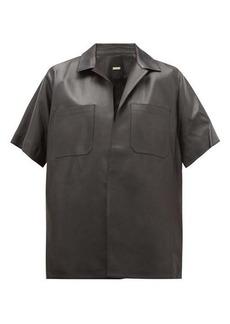Dodo Bar Or Yulanda leather shirt