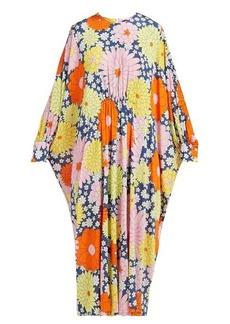 Dodo Bar Or Yvon floral-print kaftan dress