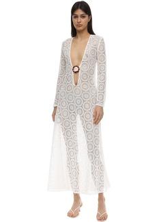 Dodo Bar Or Jane Cotton Crocheted Long Dress