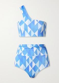 Dodo Bar Or Loe One-shoulder Printed Bikini
