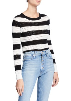 Dodo Bar Or Margaret Cropped Cotton Pullover Top