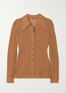 Dodo Bar Or Meryl Pointelle-knit Cardigan