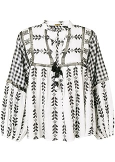 Dodo Bar Or Miguel ethnic embroidered blouse