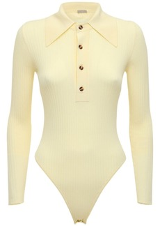 Dodo Bar Or Monie Knit Polo Bodysuit