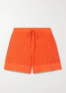 Dodo Bar Or Olivia Pointelle-knit Shorts