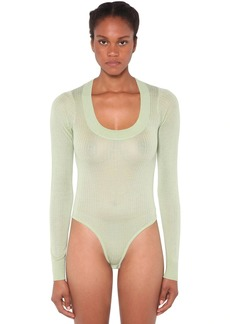 Dodo Bar Or Teddy Silk Knit Bodysuit
